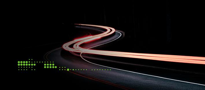 gartner road red lights blur