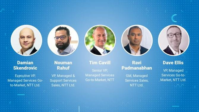 2021 Managed Services Report panel