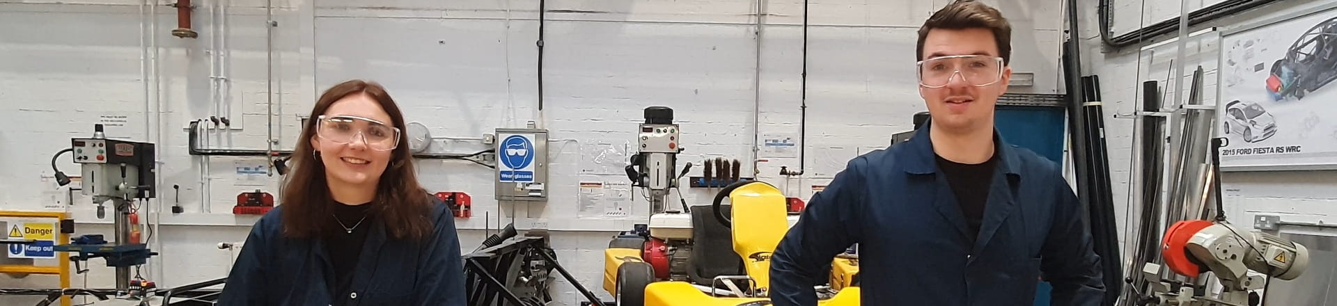 Team in a workshop