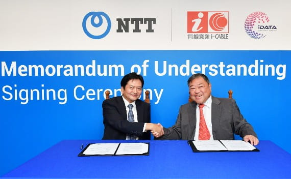 NTT and i-CABLE announce strategic alliance to address the evolving network demands of Hong Kong enterprises