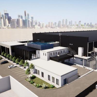 NTT Johannesburg 1 Data Center building