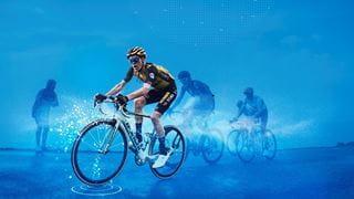 Cyclists at the Tour de France
