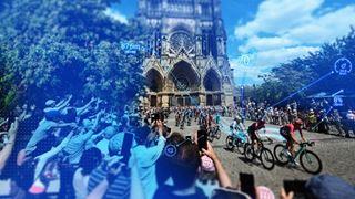 Fans at the Tour de France